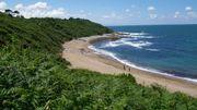 Carte postale: La côte Basque