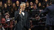 Report du concert d'Andrea Bocelli à Anvers prévu le 21 mars à cause du coronavirus