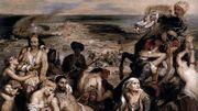 """Au Louvre, """"Les massacres de Scio"""" de Delacroix retrouve sa vigueur première"""
