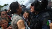"Honduras: manifestation à Tegucigalpa en solidarité avec la ""caravane"" de migrants"