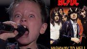 """AC/DC : un petit garçon de sept ans impressionnant sur cette reprise de """"Highway to hell"""""""