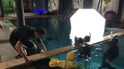 Un plongeur instructeur est toujours présent au minimum pour assurer la sécurité du modèle