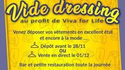 Wellin : un vide dressing pour Viva for Life...