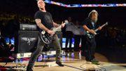 Hetfield & Hammett ouvrent le match