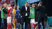 """Kasper Hjulmand, l'entraîneur du Danemark : """"J'ai le sentiment que nous n'aurions pas dû jouer… mais Eriksen le voulait"""""""