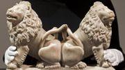 Des lions sculptés pour la tombe de Charles V aux enchères à Londres