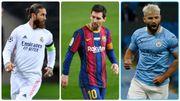 "Sergio Ramos, Lionel Messi, Sergio Aguero: le ""onze"" XXL des joueurs libres en juin2021"