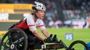 Joyce Lefevre médaille de bronze du 100m en fauteuil roulant