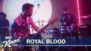 """Royal Blood joue """"Typhoons"""" au Jimmy Kimmel Live"""