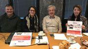 Le plan de mobilité pour le mois de décembre a été présenté notamment par Valérie Heyvaert, conseillère en mobilité, 2e en partant de la gauche, et à sa droite le bourgmestre Pierre Huart à sa droite