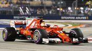 Vettel en pole devant les Red Bull à Singapour, Vandoorne 9e chrono