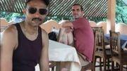 Les Français Laurent Lassimouillas et  Patrick Picque, deux des quatre otages libérés