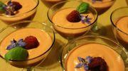 La tomate en version dessert