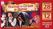 Un spectacle de vaches pour la treizième édition du Festival du Cirque de Namur