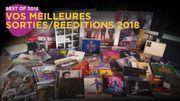 Le top albums et rééditions 2018