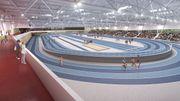 Bientôt un nouvel écrin indoor pour les athlètes francophones.
