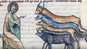 Au Moyen-Age, omniprésence des animaux dans les textes, les enluminures, les chansons,...