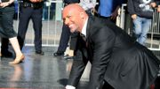 """Dwayne """"The Rock"""" Johnson a les honneurs d'une étoile à Hollywood"""