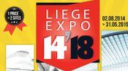 """Fin de """"Liège-Expo 14-18""""; une exposition autour de Dali succèdera en 2016"""