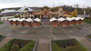 L'entrée du parc, un peu vieillotte, sera complètement transformée, mais seulement en 2021.