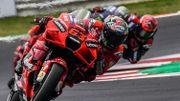 MotoGP Saint-Marin: Bagnaia s'impose devant Quartararo au terme d'une magnifique bataille, le rookie Bastianini troisième
