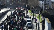 Environ 1000 personnes se sont rassemblées ce dimanche 10 mars