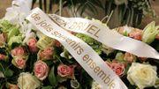 La couronne de fleurs envoyée par Patrick Bruel