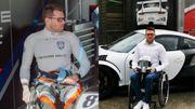 Le carolo Nigel Bailly: pilote paraplégique sur la ligne de départ des 24heures duMans