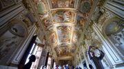 La galerie des Carrache, joyau de l'ambassade de France à Rome, retrouve sa splendeur
