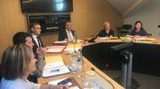 Première réunion de travail des ministre de la Fédération Wallonie-Bruxelles