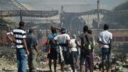 Haïti: le marché historique de Port-au-Prince réduit en cendres