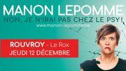 Manon Lepomme ce 12 décembre au Rox
