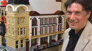 Des façades historiques reconstituées avec des Lego à Blankenberge