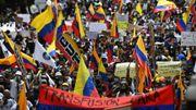 Syndicats, étudiants, indigènes et d'autres secteurs se mobilisent en Colombie