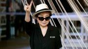 Yoko Ono, convalescente, reporte sa venue à Lyon pour sa retrospective