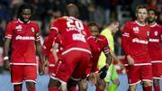 L'Antwerp bat Ostende grâce à un doublé de Mbokani et rejoint Bruges à la deuxième place