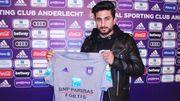 Kenny Saief rejoint Anderlecht et Vanhaezebrouck