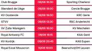 Pro League: Club de Bruges - Sporting Charleroi en ouverture de la saison