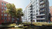 Le projet prévoit la construction de 7 immeubles