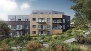 A côté des logements, ce projet prévoit des espaces verts sur 75% de la superficie.