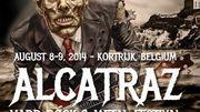 Marilyn Manson présent à l'Alcatraz Metal Festival à Courtrai