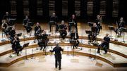 A la Philharmonie de Paris, l'Orchestre de Paris reprend le chemin des concerts mais en petit comité