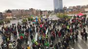 Ils sont environ 1000 à prendre le départ de la gare de Liège Guillemins ce dimanche