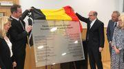 Le ministre de la Justice, Koen Geens, et le ministre-président de la Communauté germanophone, Oliver Paasch, ont inauguré le bâtiment