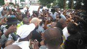 Arrivée chaleureuse pour Vanden Borre à Lubumbashi, au Congo