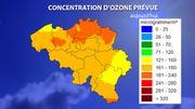 Forte chaleur et ozone: Celine active la phase d'avertissement