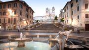 À Rome, l'escalier restauré de la Trinité des Monts restera ouvert en permanence