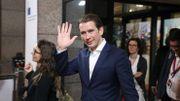 Sebastian, le premier ministre autrichien, bénéficie du scandale de son ex-partenaire d'extrême-droite