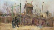 """Un Van Gogh """"Scène de rue à Montmartre"""" vendu pour un montant record de 13 millions d'euros"""