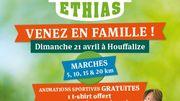 Journée exceptionnelle ce dimanche de Pâques à Houffalize avec l'Adeps et Vivacité !